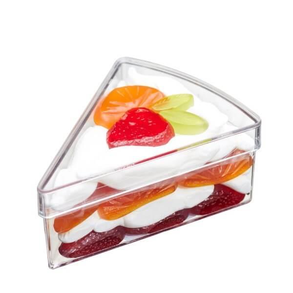 Fruchtgummi Tortenstück Früchtetraum
