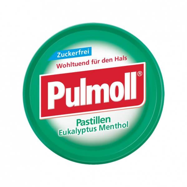 Pulmoll Eukalyptus-Menthol zuckerfrei