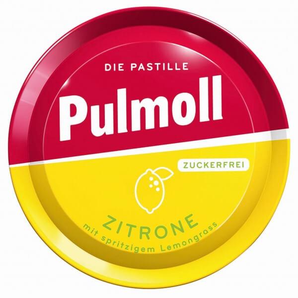 Pulmoll Zitrone mit spritzigem Lemongrass zuckerfrei