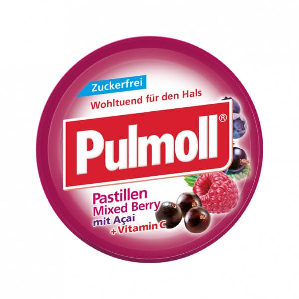 Pulmoll Mixed-Berry zuckerfrei