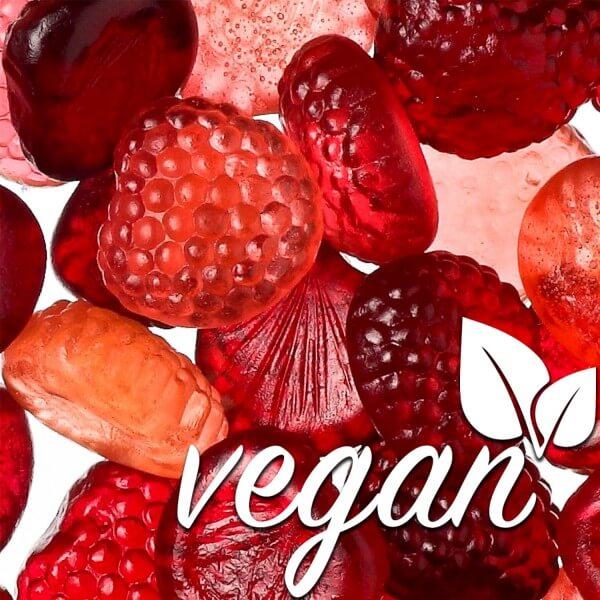 Vegane Fruchtgummi Waldfrüchte ohne Gelatine