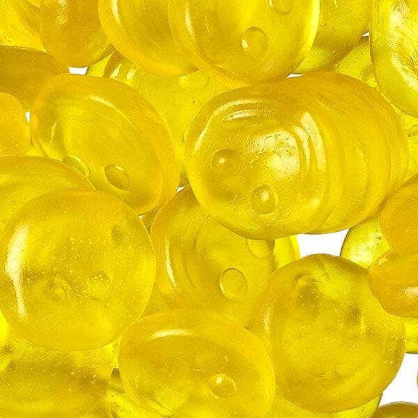 Fruchtgummi Lustige Zitrone 1000g [Bulk]