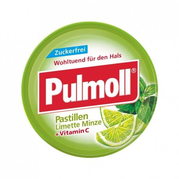Pulmoll Limette-Minze zuckerfrei