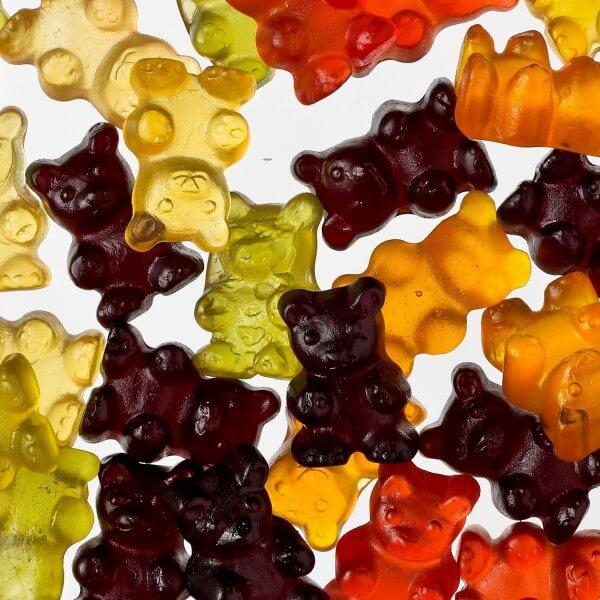 XXL-Gummibären mit 25 % Fruchtsaft (mit Rindergelatine)