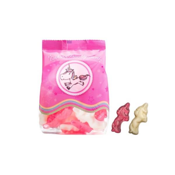Einhorn Fruchtgummi-Mix rosa