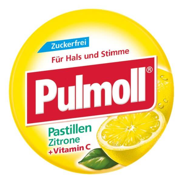 Pulmoll Zitrone zuckerfrei MINI