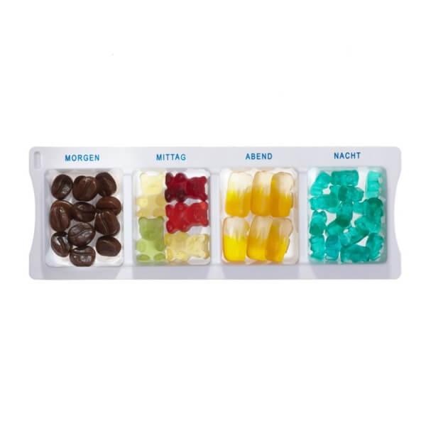 Pillenbox Mix mit Fruchtgummi