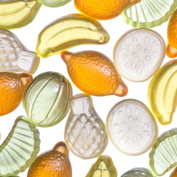 Saure Zitrusfrüchte