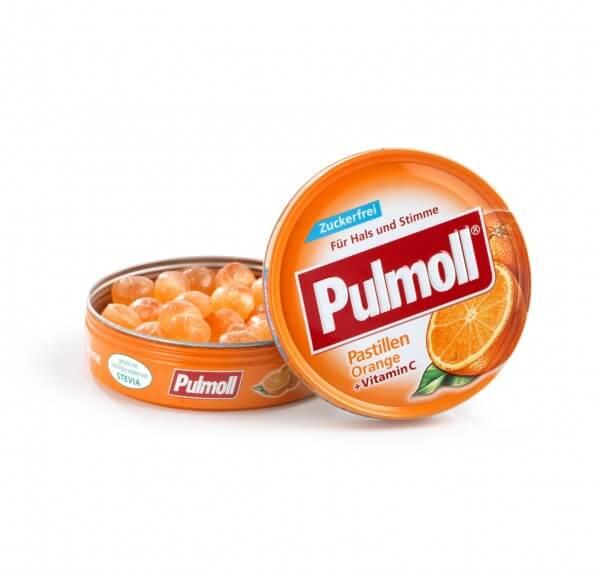 Pulmoll Orange zuckerfrei