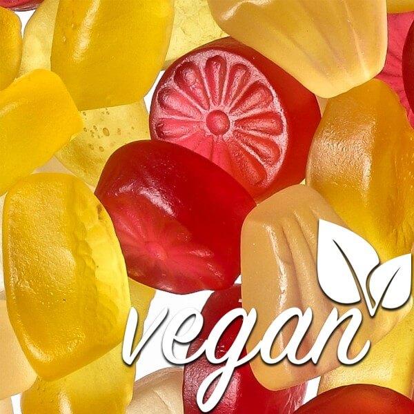 Vegane Fruchtgummi Exoticfrüchte ohne Gelatine