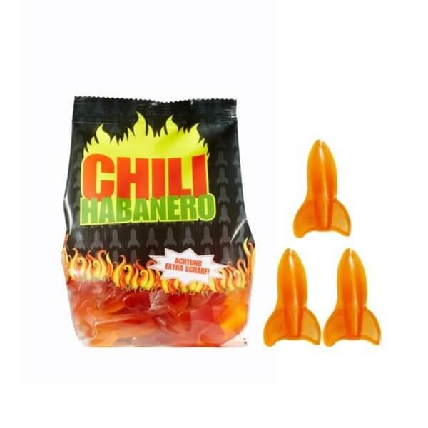 Chili-Habanero-Raketen Fruchtgummi