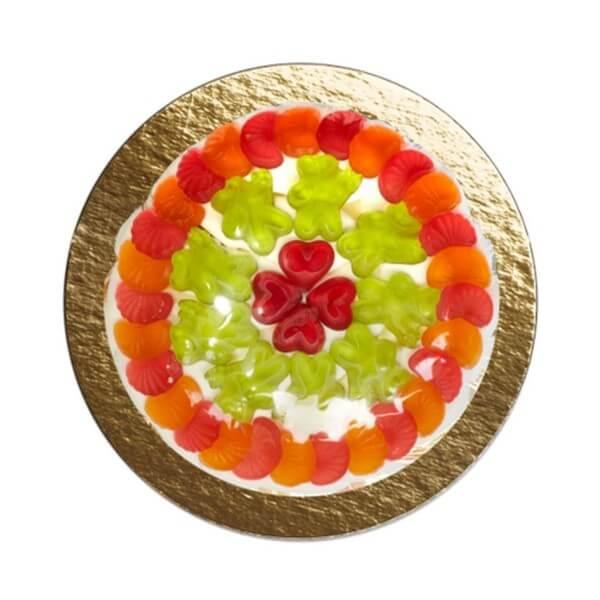 Fruchtgummi Torte Glücksgefühle