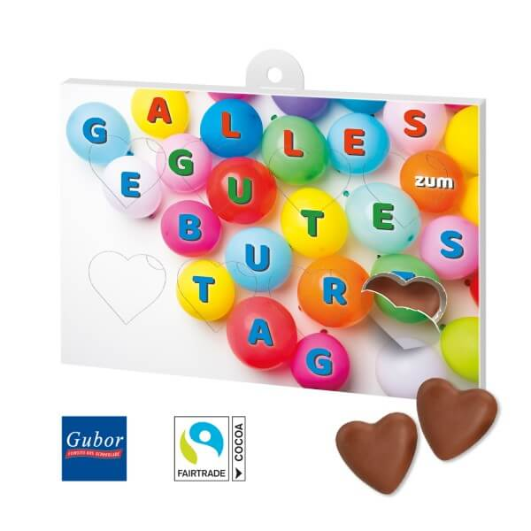 Schokoladengeschenk Herzenssache Motiv Alles Gute 4