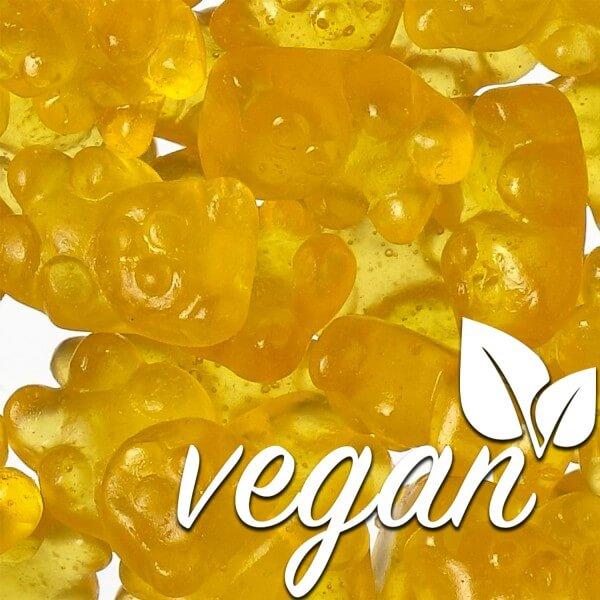 Vegane Mango Bärchen ohne Gelatine