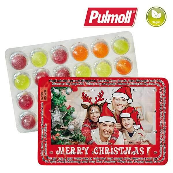 Kleinster Adventskalender der Welt von Pulmoll mit Zahlen