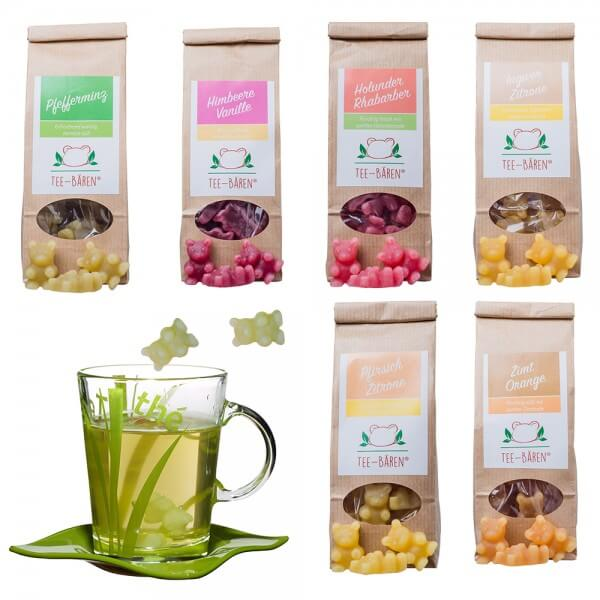 Tee-Bären® 6er Probier-Set (ohne Tasse)