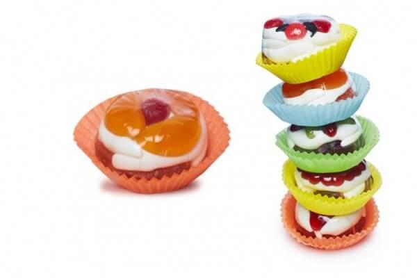 """Fruchtgummi Muffin """"Orange"""""""