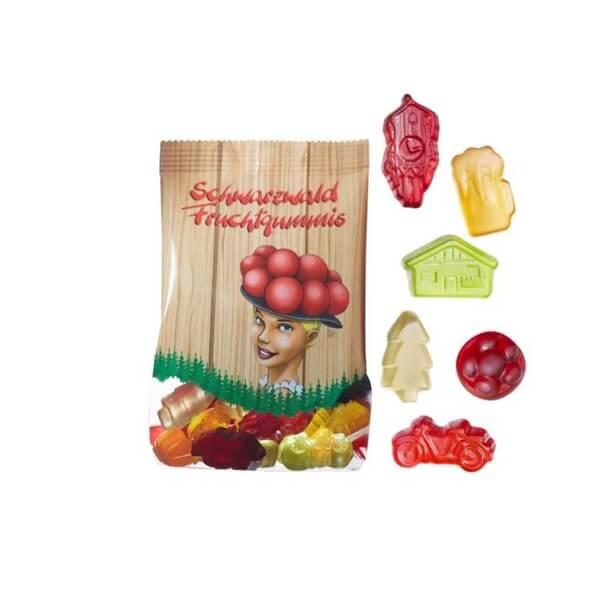 Fruchtgummi Mix Schwarzwald