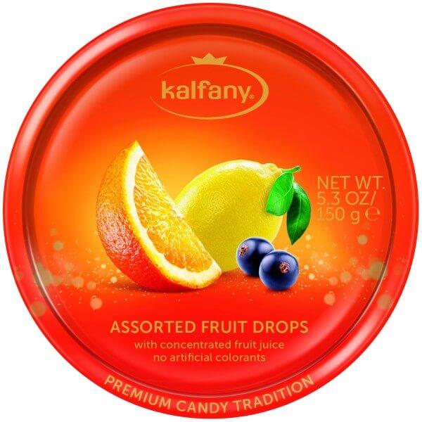 Kalfany Classic Früchte Bonbons 150g