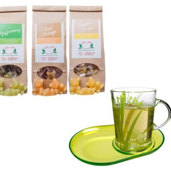 Tee-Bären® Geschenkset mit Tasse