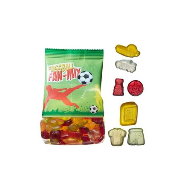 Fußball Fruchtgummi-Mix