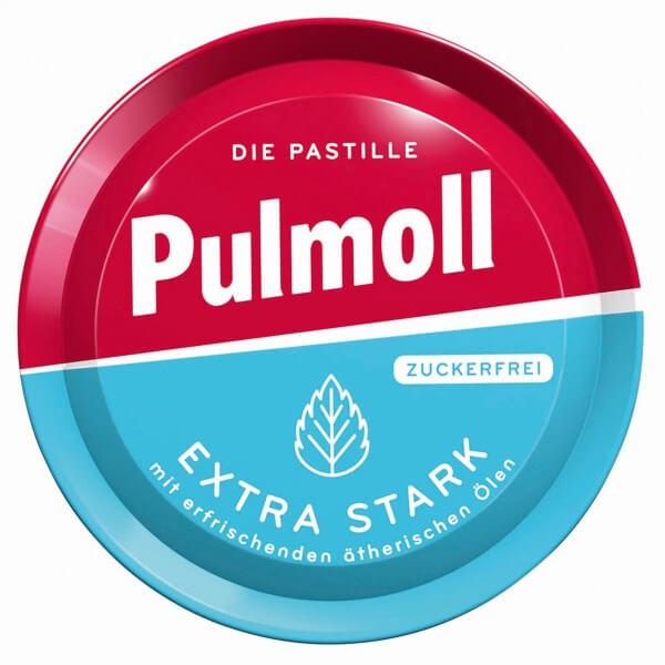 Pulmoll Extra Stark mit erfrischenden ätherischen Ölen zuckerfrei