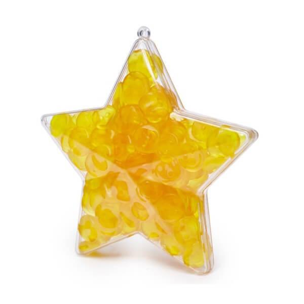 Sternenform mit Fruchtgummi gefüllt