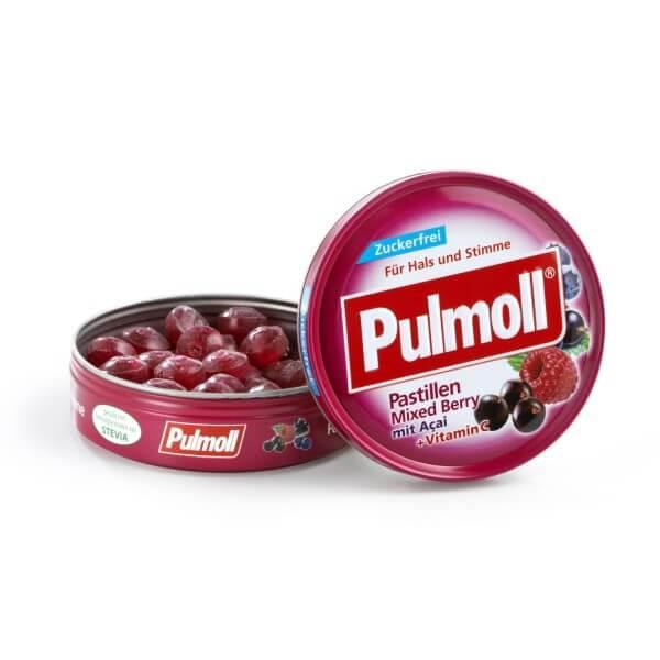 Pulmoll Mixed-Berry zuckerfrei