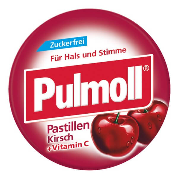 Pulmoll Kirsche zuckerfrei MINI