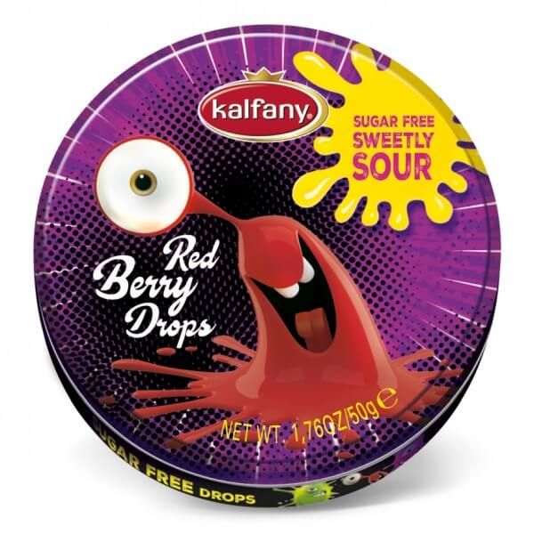 Kalfany Crazy Drops Red Berry