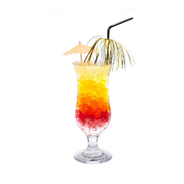 Fruchtgummi Cocktailglas Bärchen on the Beach