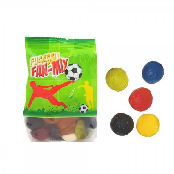 Fußball Fruchtgummi-Mix mit 10 % Fruchtsaft