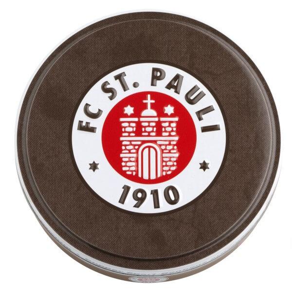 Dosenbonbons FC St. Pauli mit Vereinslogo