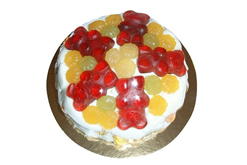 Fruchtgummi Torte Gute Laune
