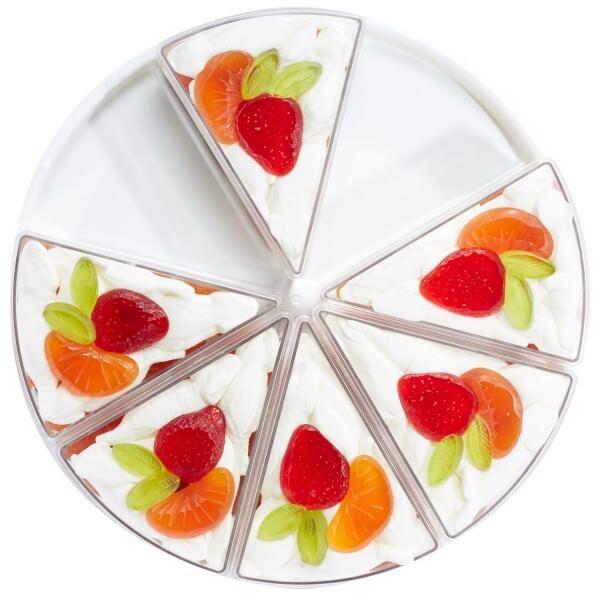 Torte aus Fruchtgummi Früchtetraum