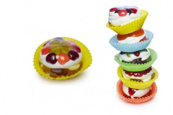 Fruchtgummi Muffin Süßes Früchtchen