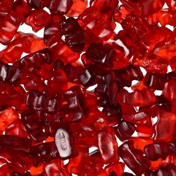 Fruchtsaft Fruchtgummi mit Erdbeer-Kirsch-Geschmack