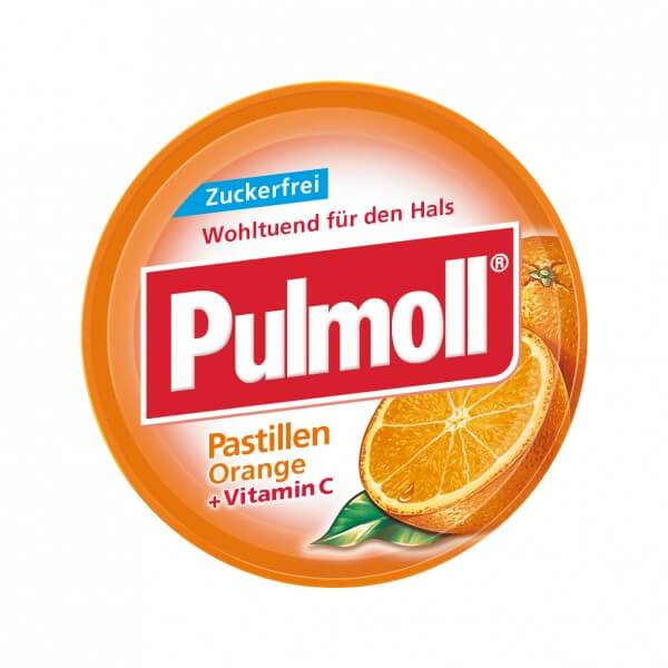 Pulmoll Orange zuckerfrei