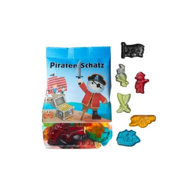 Piratenschatz Fruchtgummi-Mix