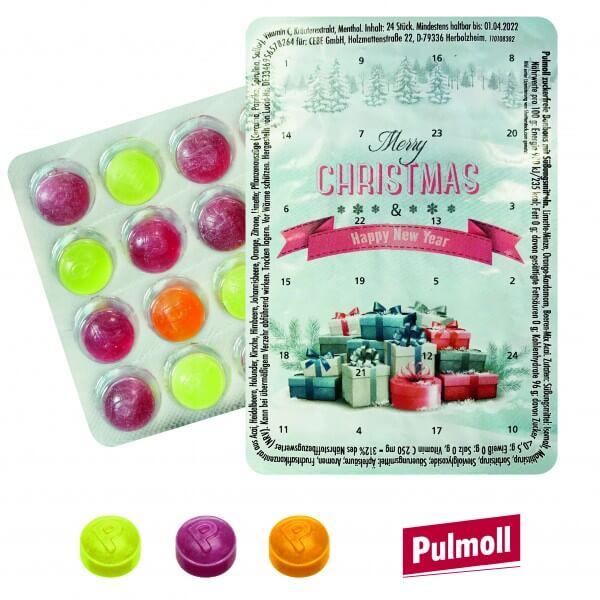 """Mini Adventskalender mit Pulmoll, """"Geschenkeberg"""""""