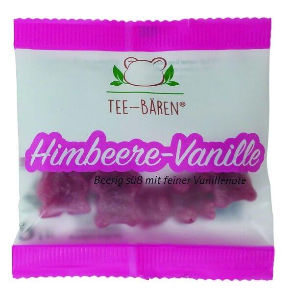 Tee-Bären Himbeere Vanille Minibeutel
