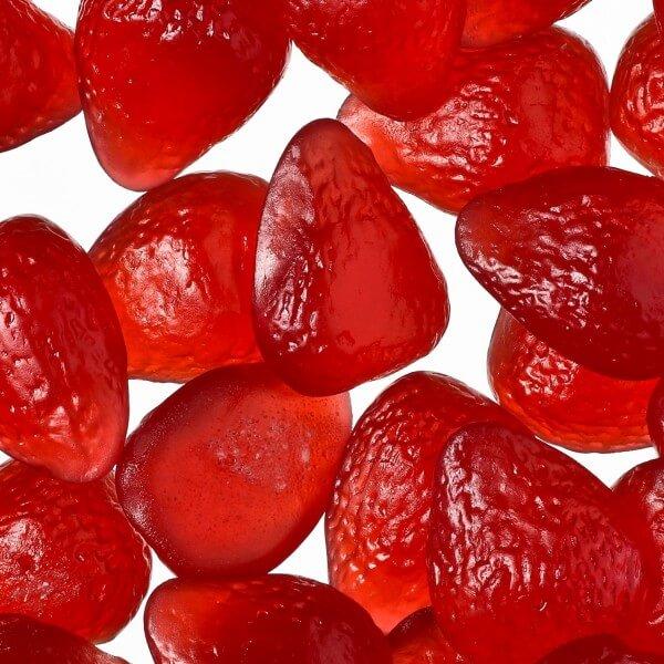 Erbeer-Sahne Gummibären mit 10 % Fruchtsaft