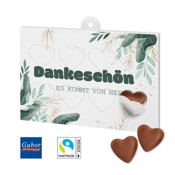 Schokoladengeschenk Herzenssache Motiv Danke 4