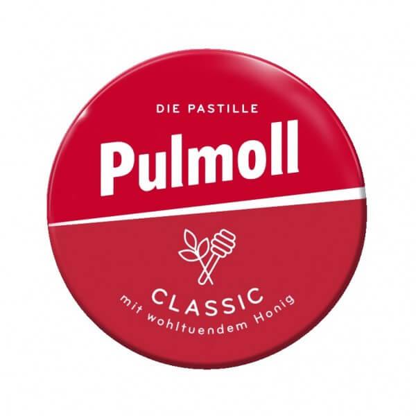 Pulmoll MINI Classic mit wohltuendem Honig