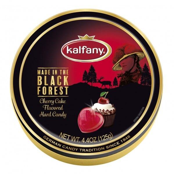 Kalfany Cherry Cake 125g Bonbons mit Schwarzwälder Kirschtorten Geschmack