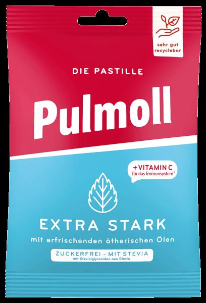 Pulmoll Beutel Extra Stark mit erfrischenden ätherischen Ölen zuckerfrei