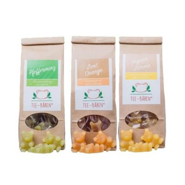 Tee-Bären Dreierlei Geschenkbox