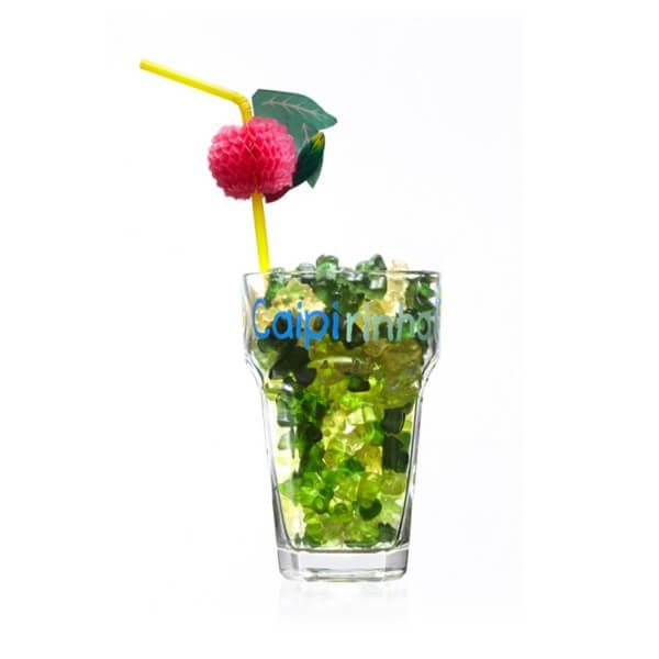Caipirinha Fruchtgummi Glas