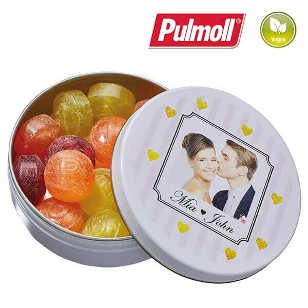 Taschendose mit Pulmoll Pastillen, 18g