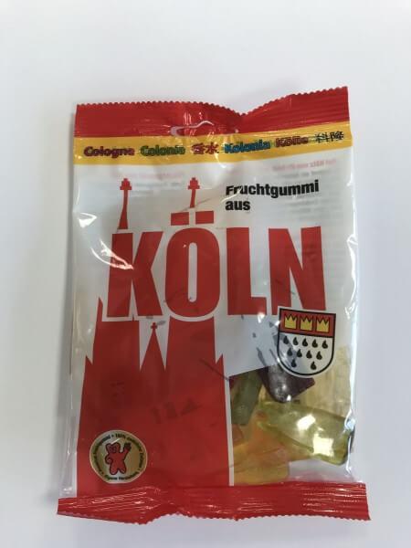 Souvenir Fruchtgummi Köln